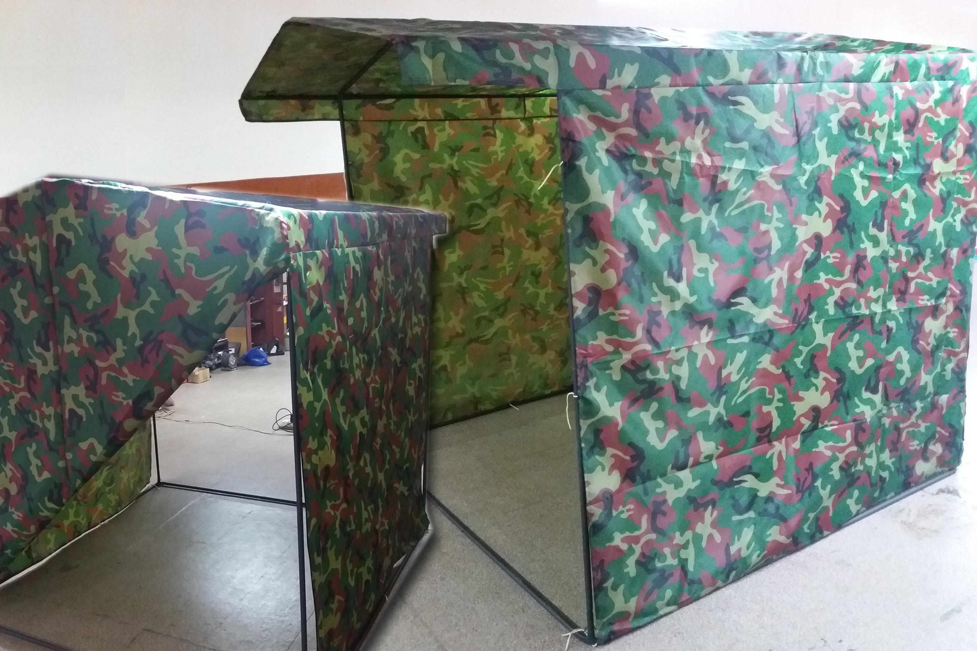 палатка камуфляж 1