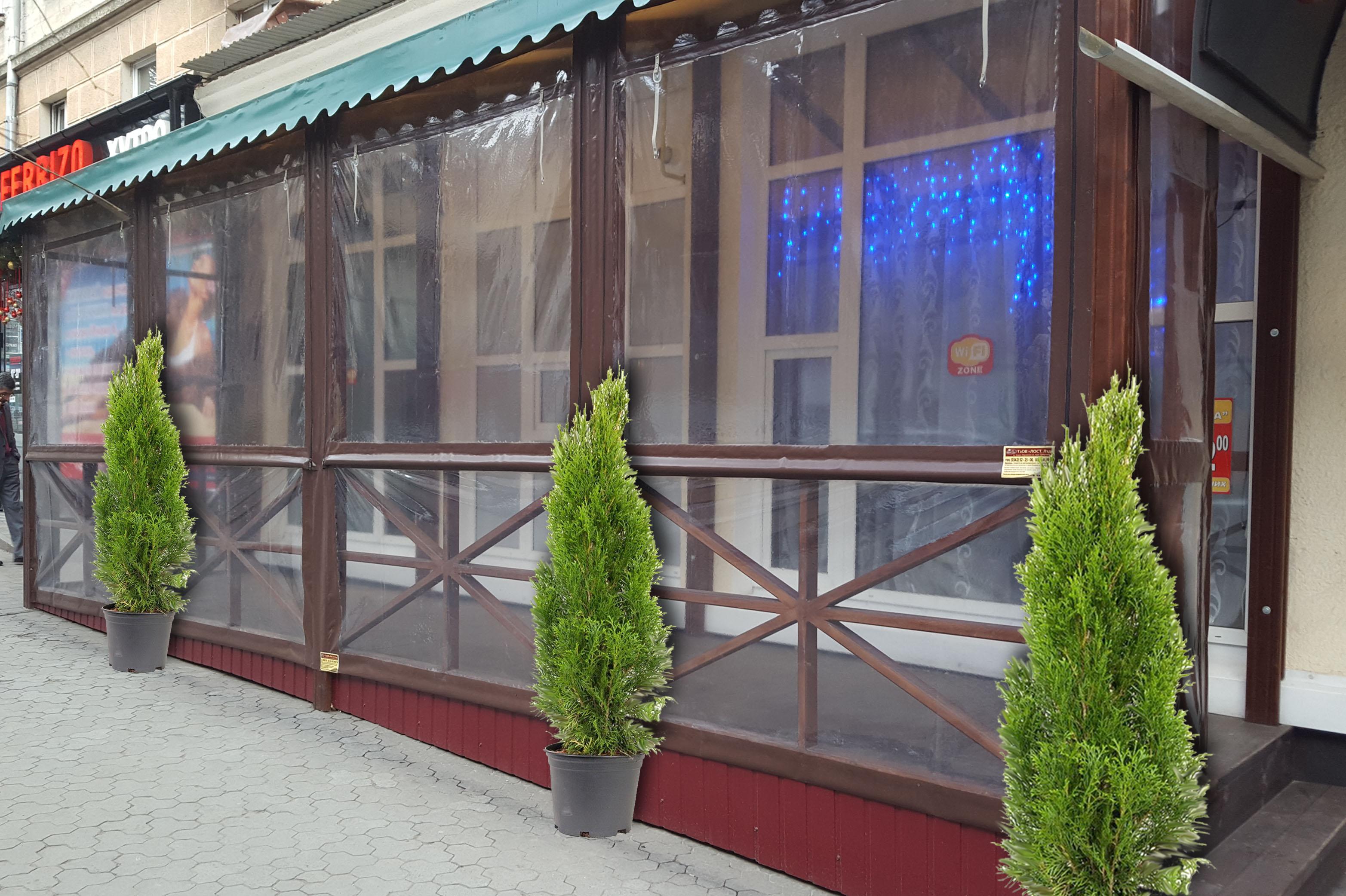 Захисні бокові штори Тернопіль1