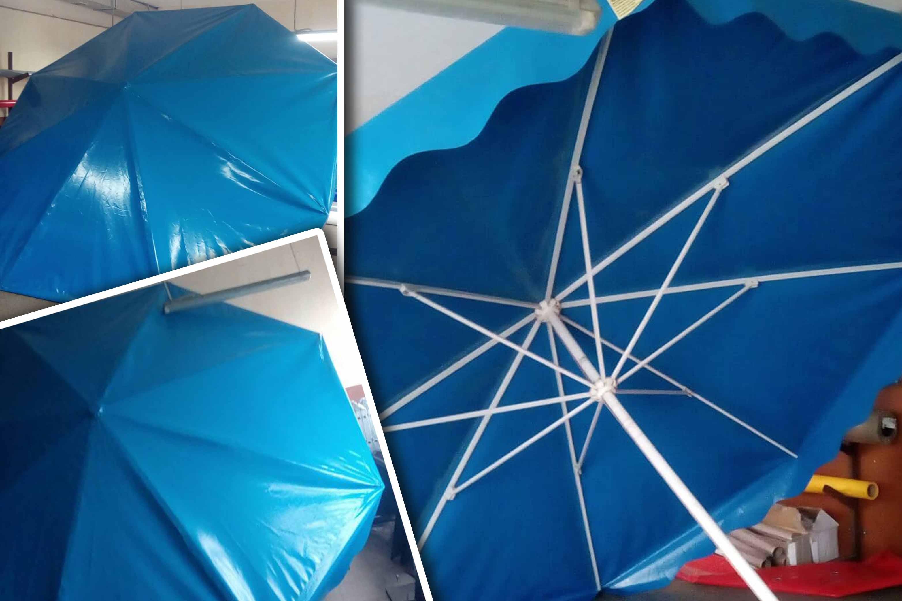 В торгові палатки парасолі