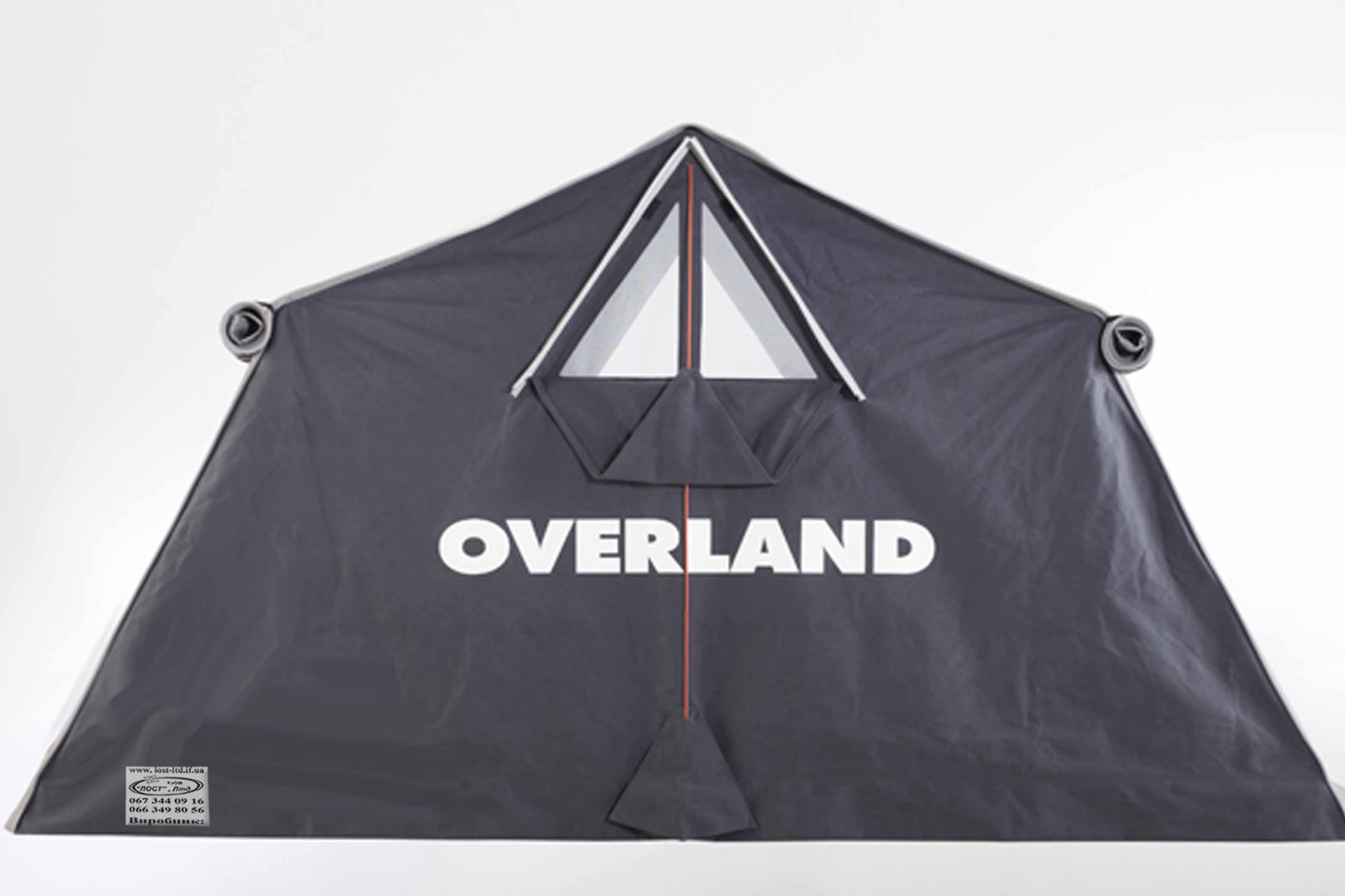 Палатка оверланд сіра