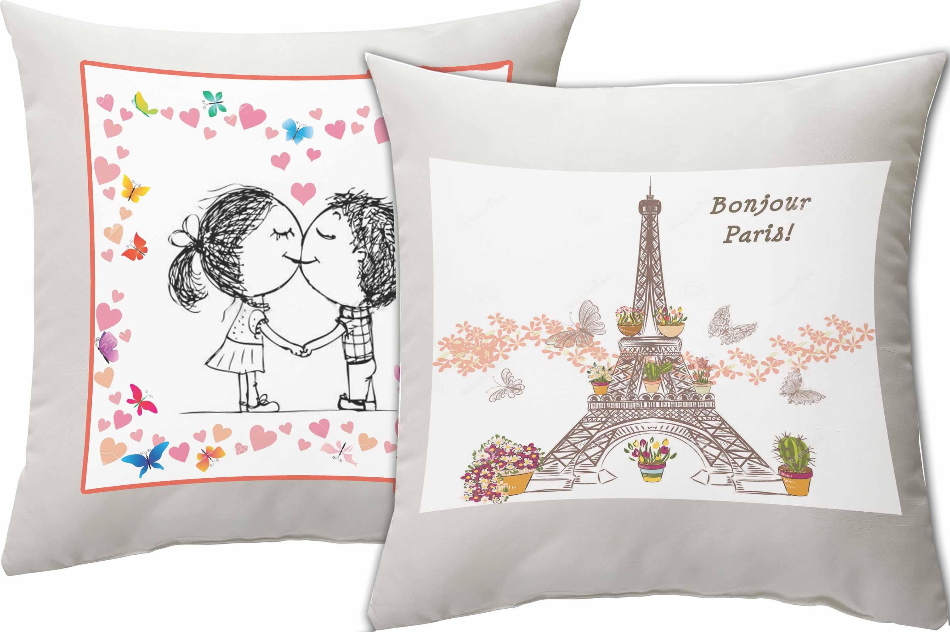 подушка-Любов-парижа